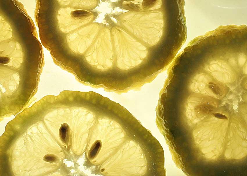 Zitronen Hellglänzend