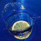 Zitronen-Splash