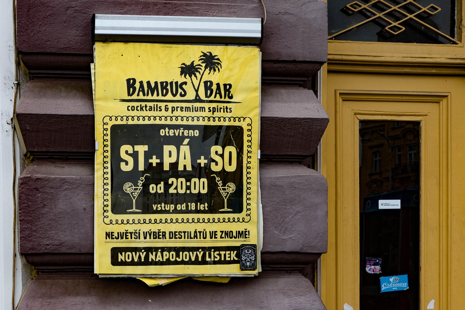 Znaim 8 Und Abends In Die Bambus Bar Foto Bild Tschechien