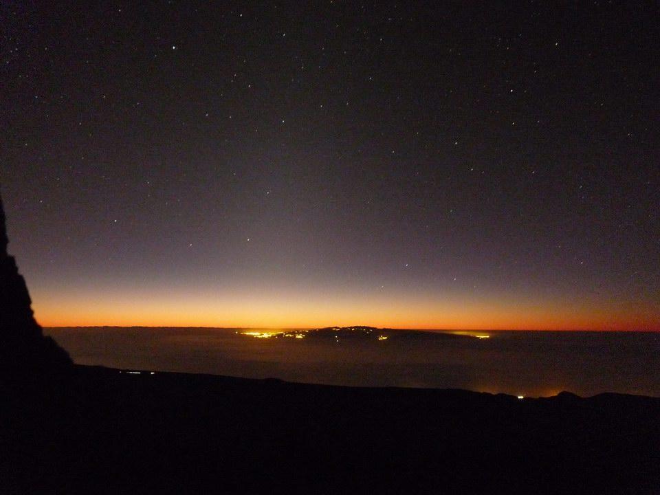 Zodiakallicht über Gran Canaria
