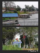 Zollstation für Kambdoscha am Mekong