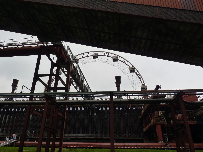 Zollverein Essen Kokerei Riesenrad