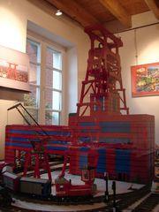 Zollverein (Fördergerüst aus Lego)