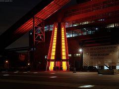 Zollverein - Rolltreppe zum Ruhrmuseum