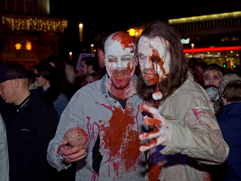 Zombiewalk Essen 31.10.13