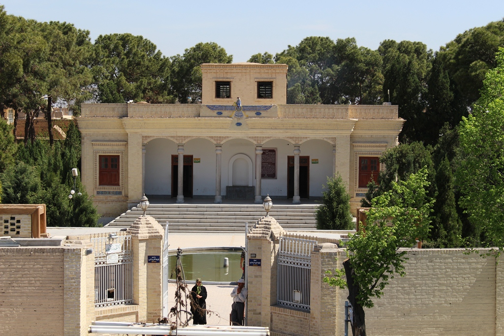 Zoroastrian fire temple, Yazd 1