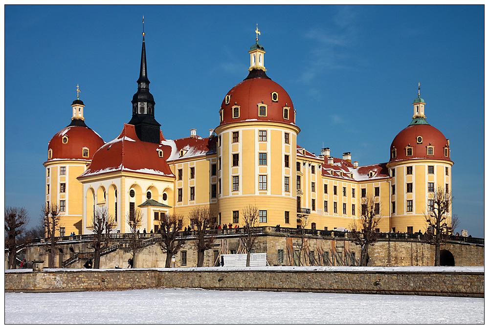 Zu Besuch im Schloss Moritzburg