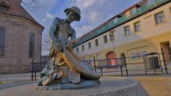 zu Besuch in Erlangen, mein Lieblingsbrunnen (Erlangen, mi fuente preferido)