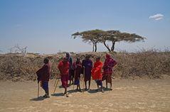 Zu Gast bei den Massai   2  