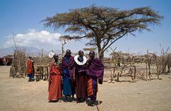 Zu Gast bei den Massai   3  