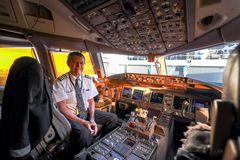 Zu Gast im Rekord-Flightdeck