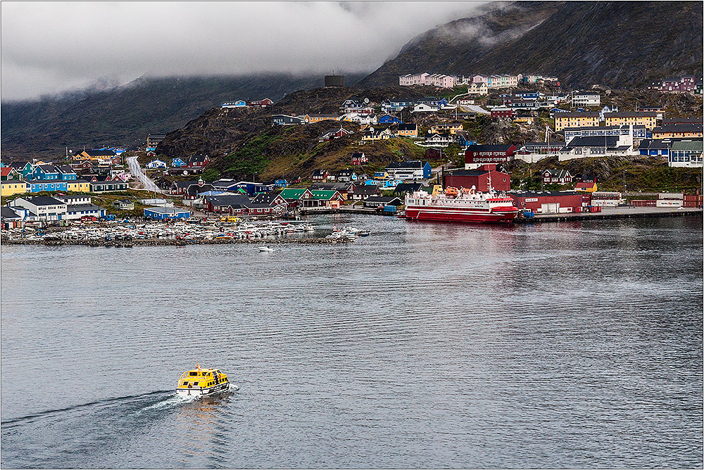 ...zu Gast in Qaqortoq ...