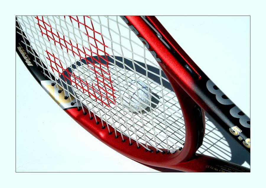 Zu heiß zum Tennisspielen ...
