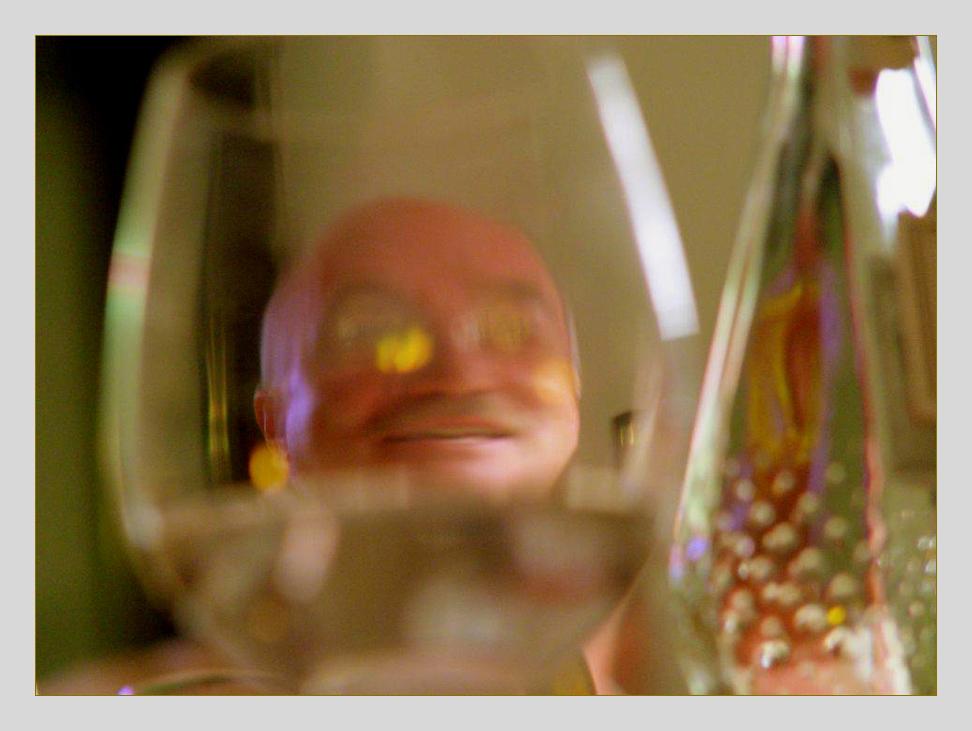 Zu tief ins Glas geschaut