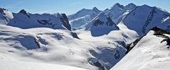 Zu Weihnachten eine meiner liebsten Sichten auf die großen Viertausender...