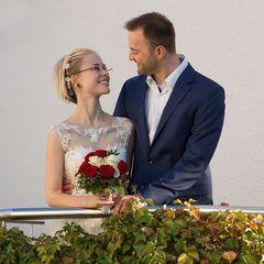 Zu Zweit - ein Brautpaar