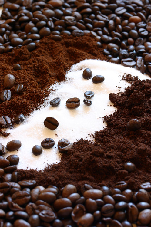 Zucker im Kaffee....