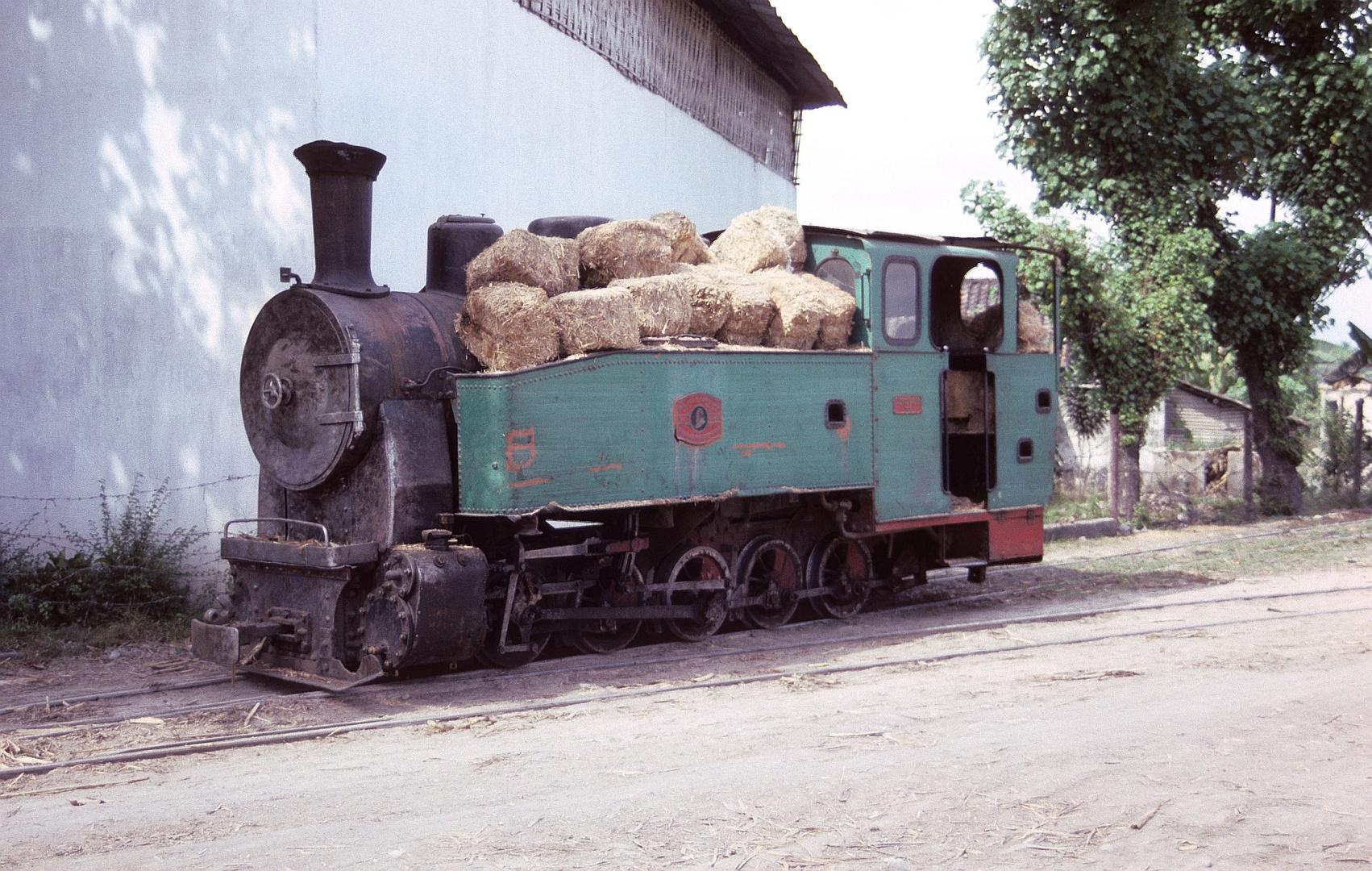 Zuckerfabrik PG Ceper, Klaten bei Solo (Java, Indonesien), August 1992