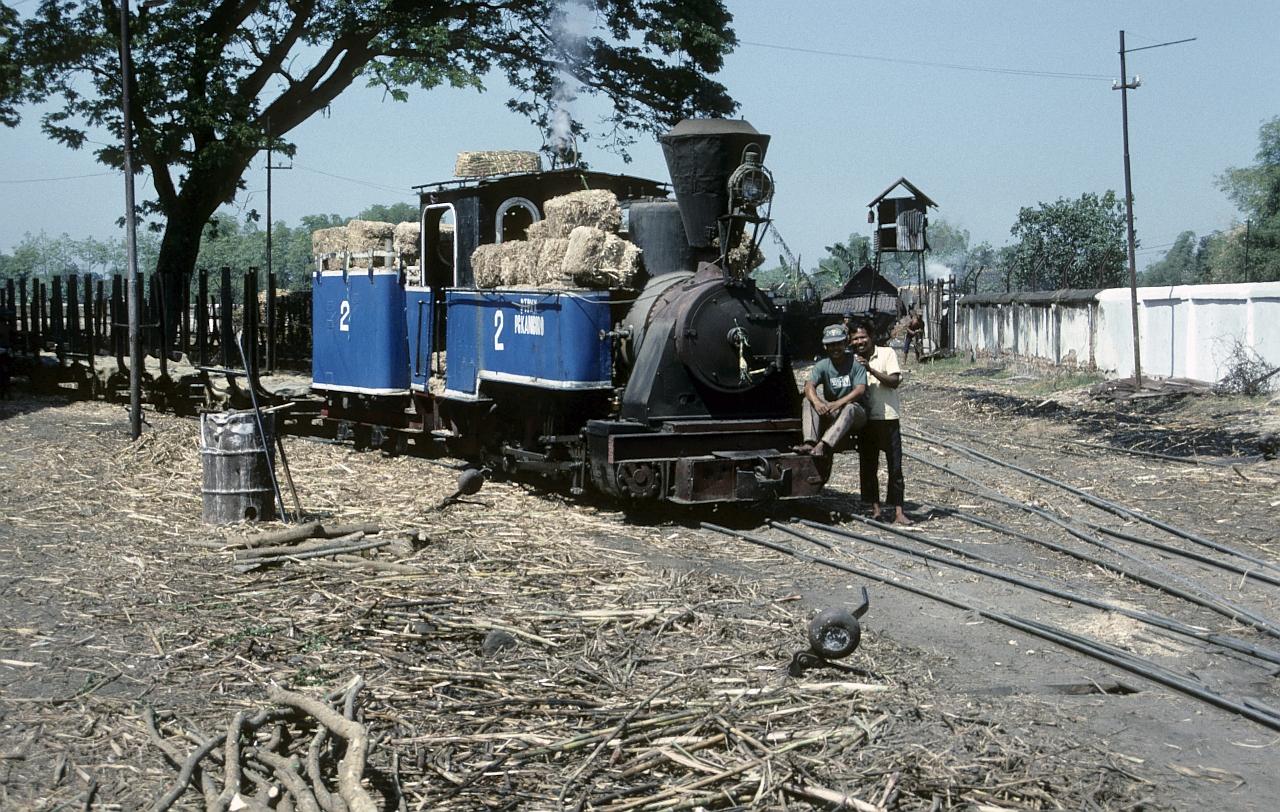 Zuckerfabrik PG Kanigoro, Madiun (Java, Indonesien), August 1992