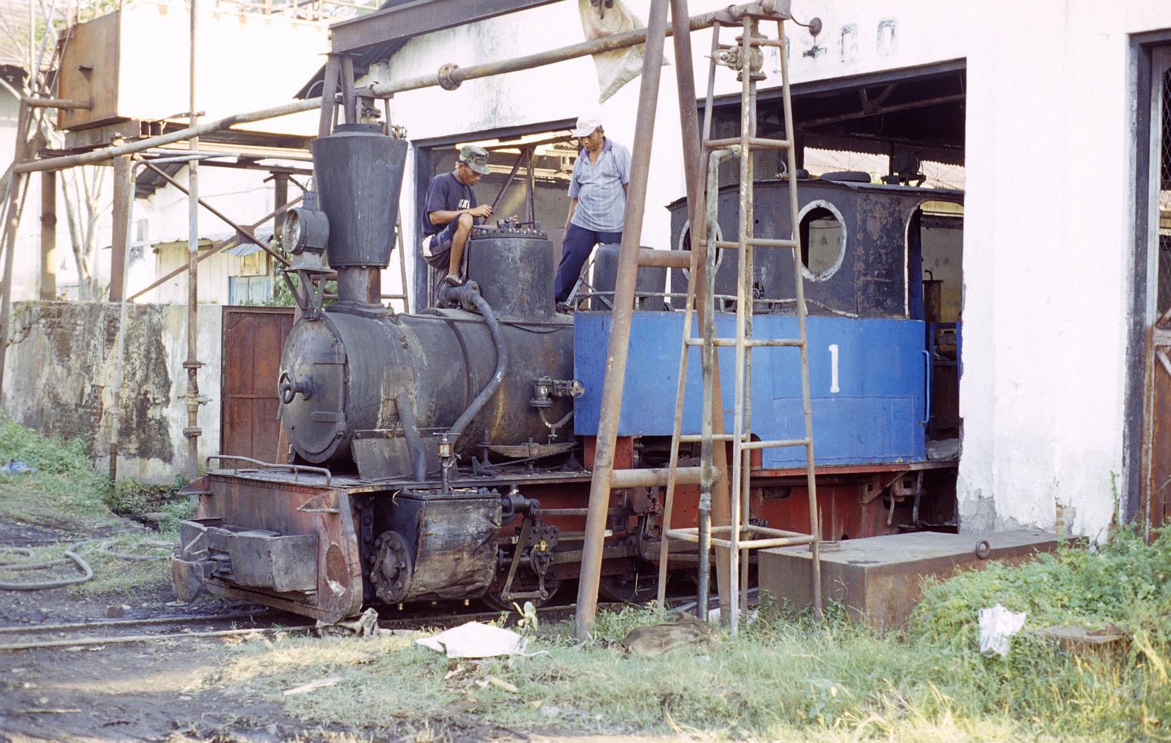 Zuckerfabrik PG Kanigoro, Madiun (Java, Indonesien), Juni 2003
