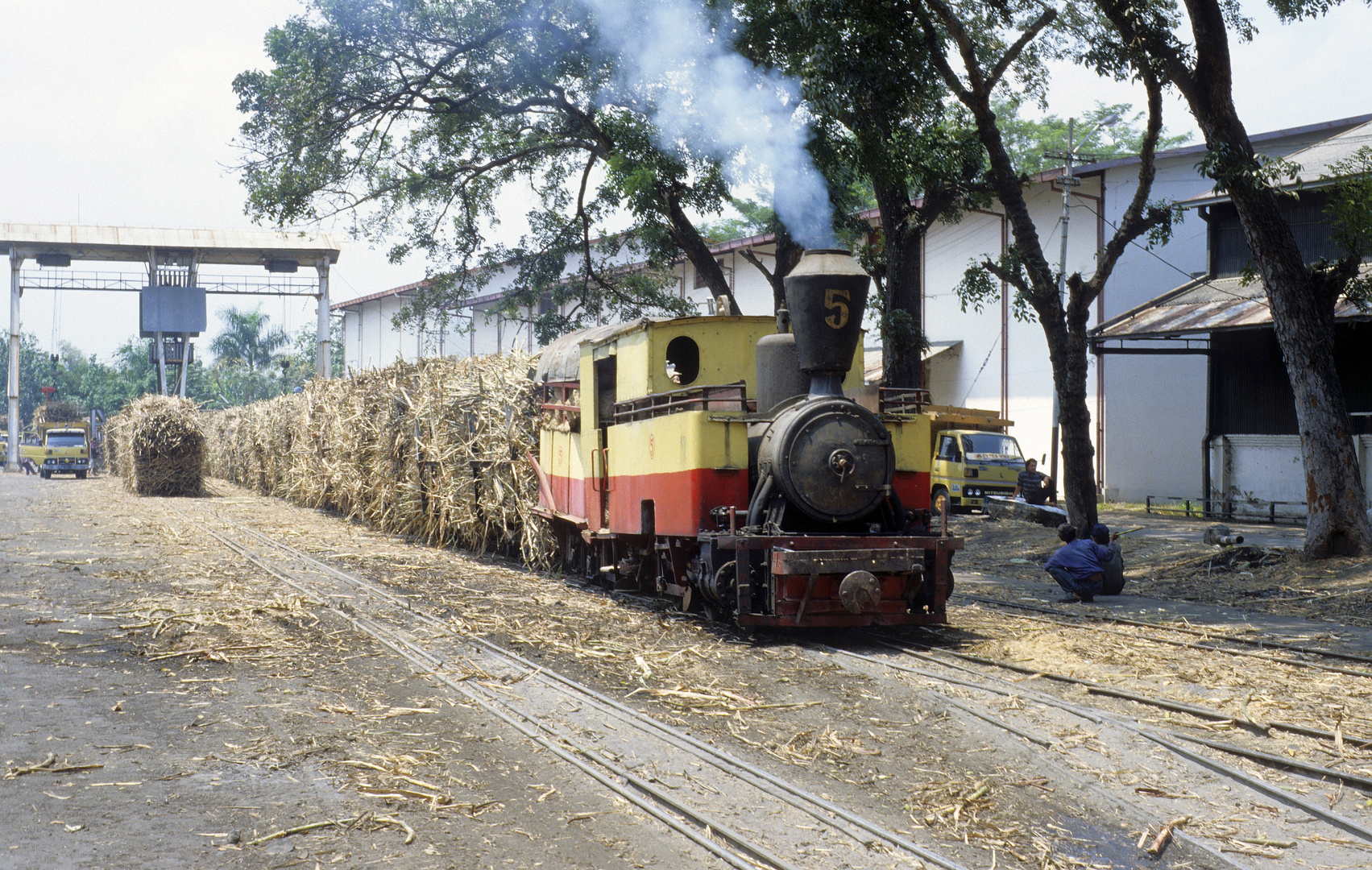 Zuckerfabrik PG Merican, Kediri (Java, Indonesien), August 2000
