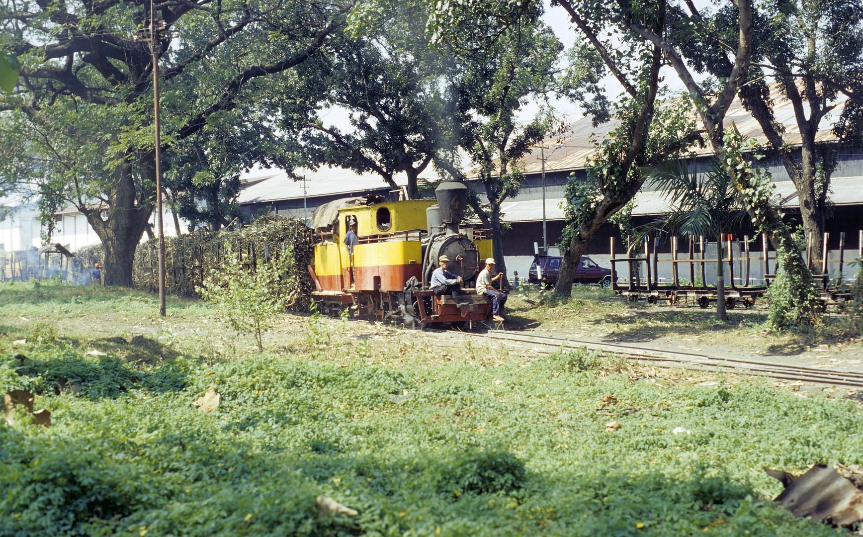 Zuckerfabrik PG Merican, Kediri (Java, Indonesien), Juni 2003