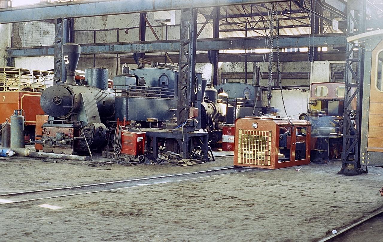 Zuckerfabrik PG Pangkah, Tegal (Java, Indonesien), Juni 2003