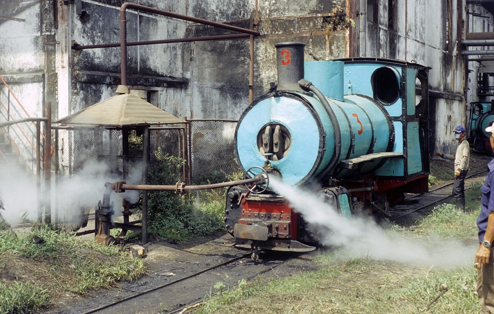 Zuckerfabrik PG Semboro, Jember (Java, Indonesien), Juli 2003