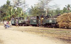 Zuckerfabrik PG Sragi, Pekalongan (Java, Indonesien), Juli 2002