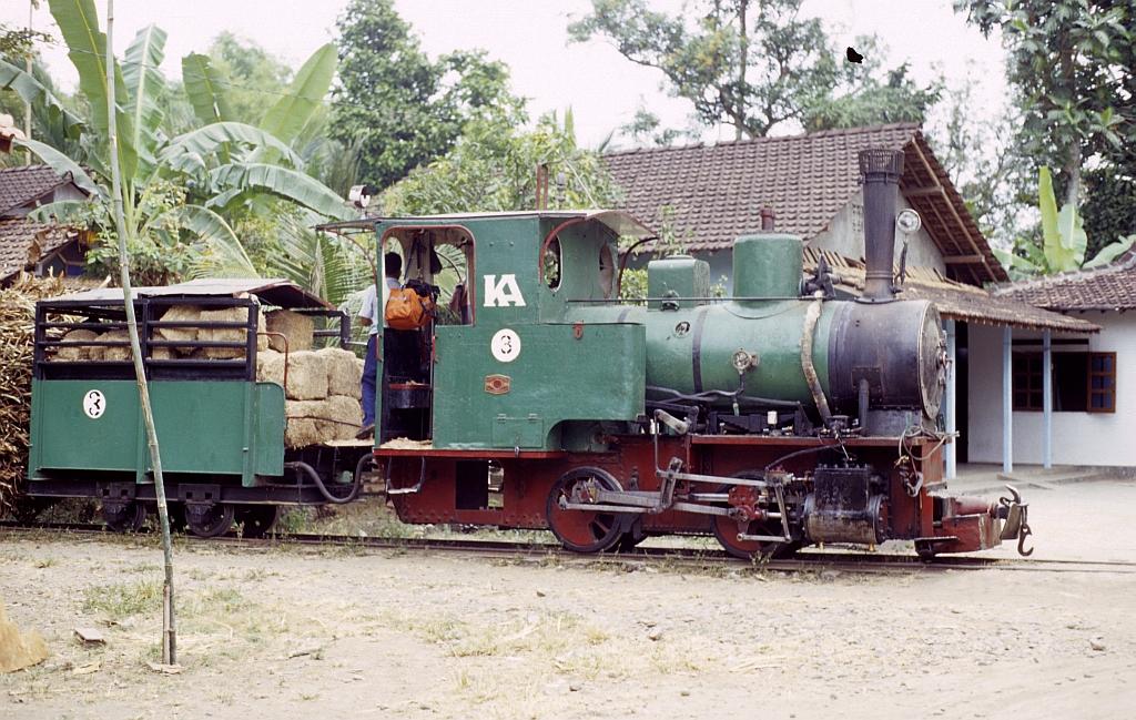 Zuckerfabrik PG Trangkil, Pati (Java, Indonesien), Juli 2002