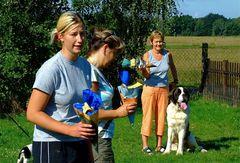Zuckertüten***gab es heut für alle***Hunde natürlich !