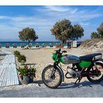 Zündapp am Strand