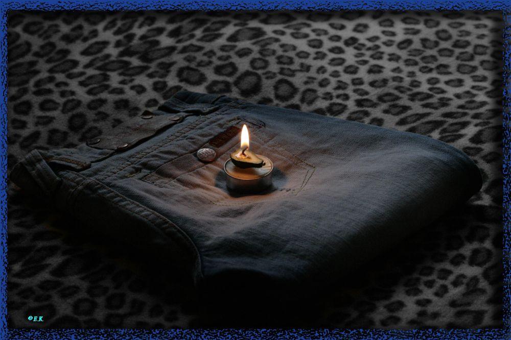 Zündet man Kerzen an, so erhält man Licht.