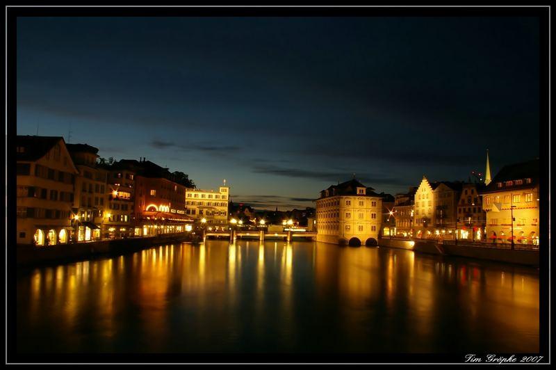Zürich at Night