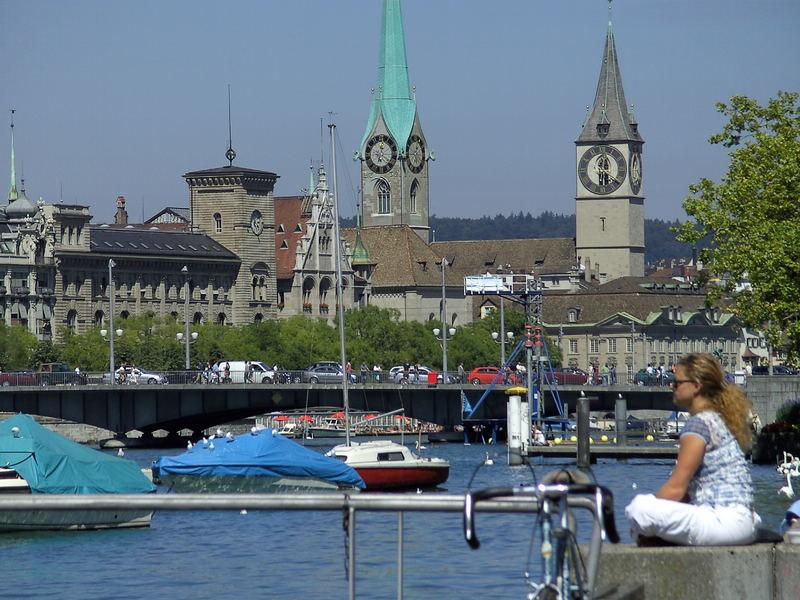 Zürich desde el lago
