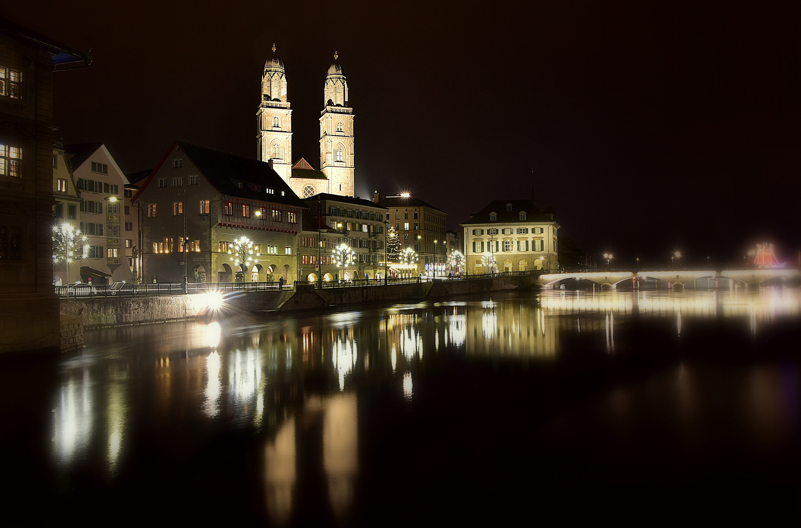 Zürich in der Vorweihnachtszeit