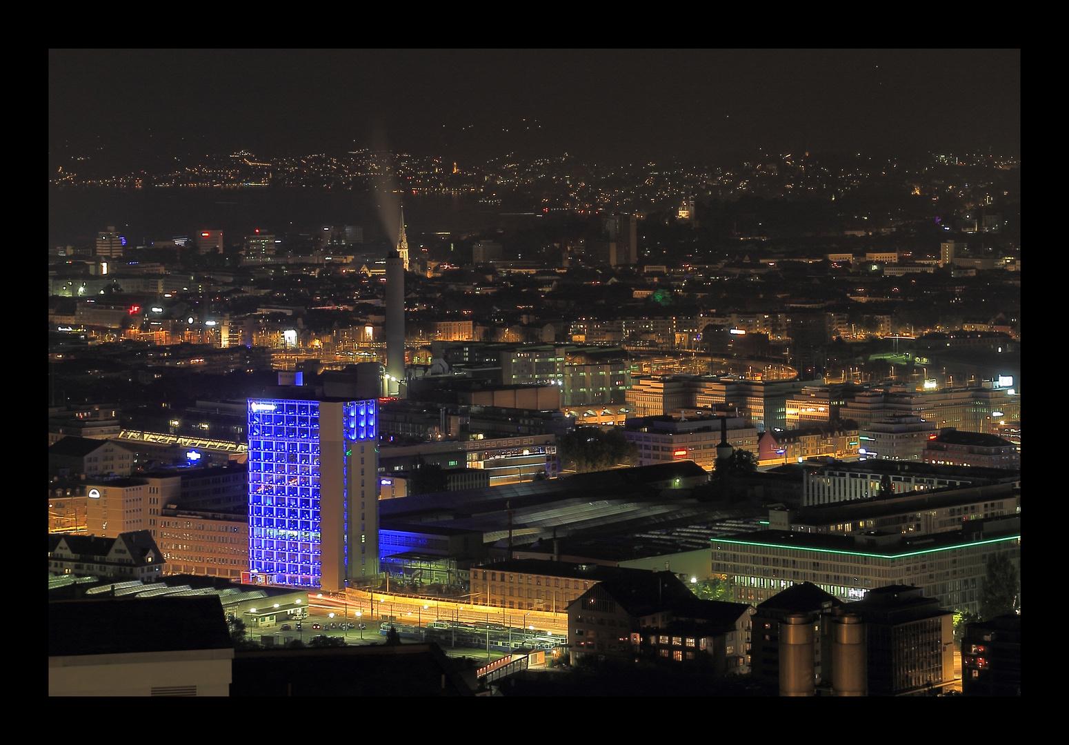 Zürich mit Bluewin Tower