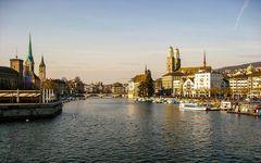 Zürich nach dem Winter