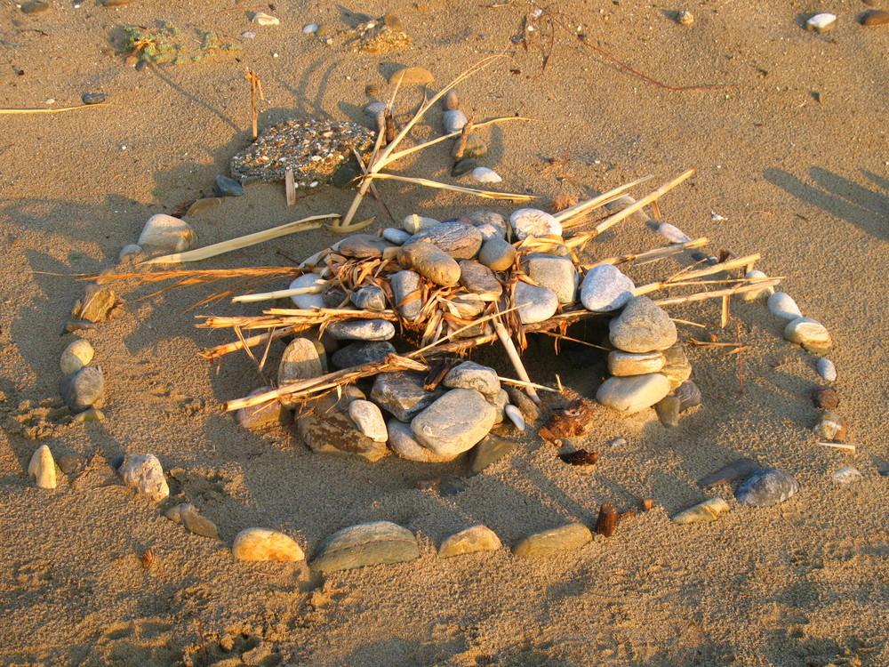 Zufällig am Strand gesehen, wer erkennt es?