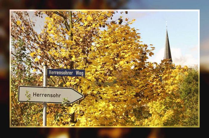 """Zufahrtsstrasse nach Herrensohr - """"Kaltnaggisch"""" -"""