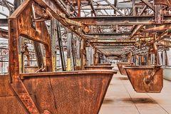 Zufuhrbahn der Rohstoffe