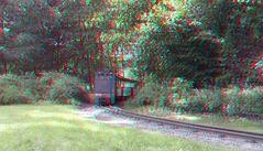 Zug der Waldeisenbahn in Bad Muskau