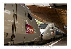Zug mit großer Geschwindigkeit - TGV POS