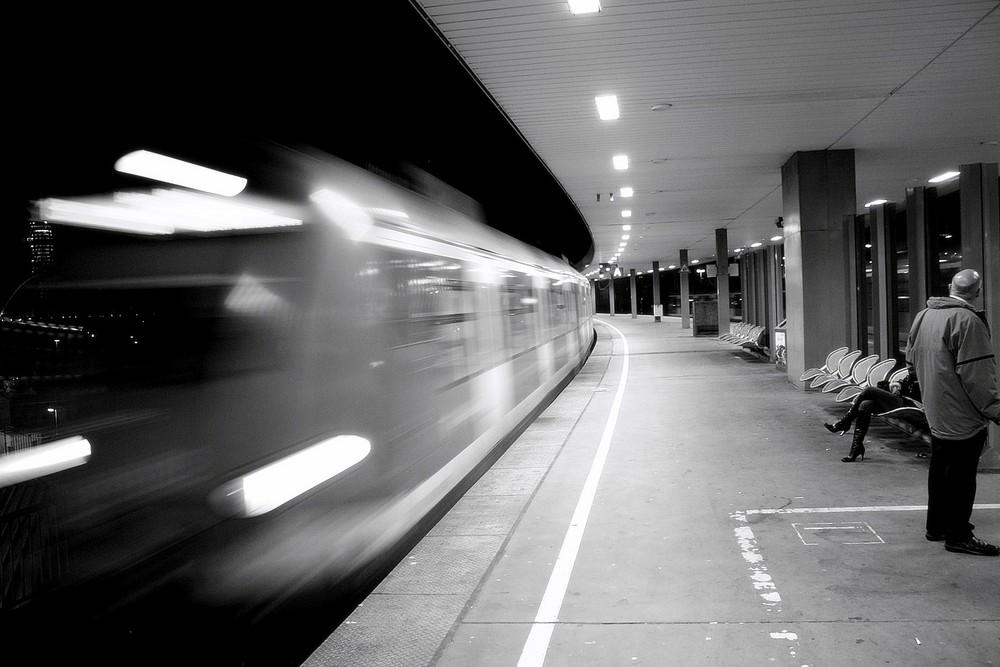 Zug verpasst