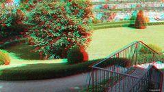 Zugang zum Garten des Schlosses Hartenfels in Torgau