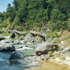 "Zugang zum Salto de Baiguate (Nähe Jarabacoa, Dominik. ""Alpen"")"