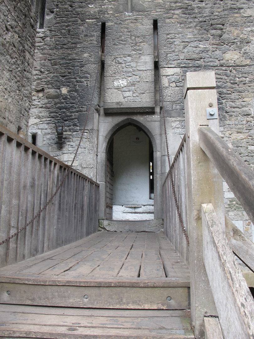 Zugbrücke vom Bunratty Castle
