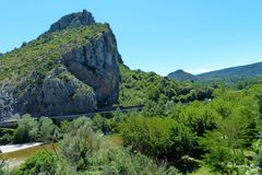 Zugfahrt durch das Gordontal - Landschaft entlang des Flusses