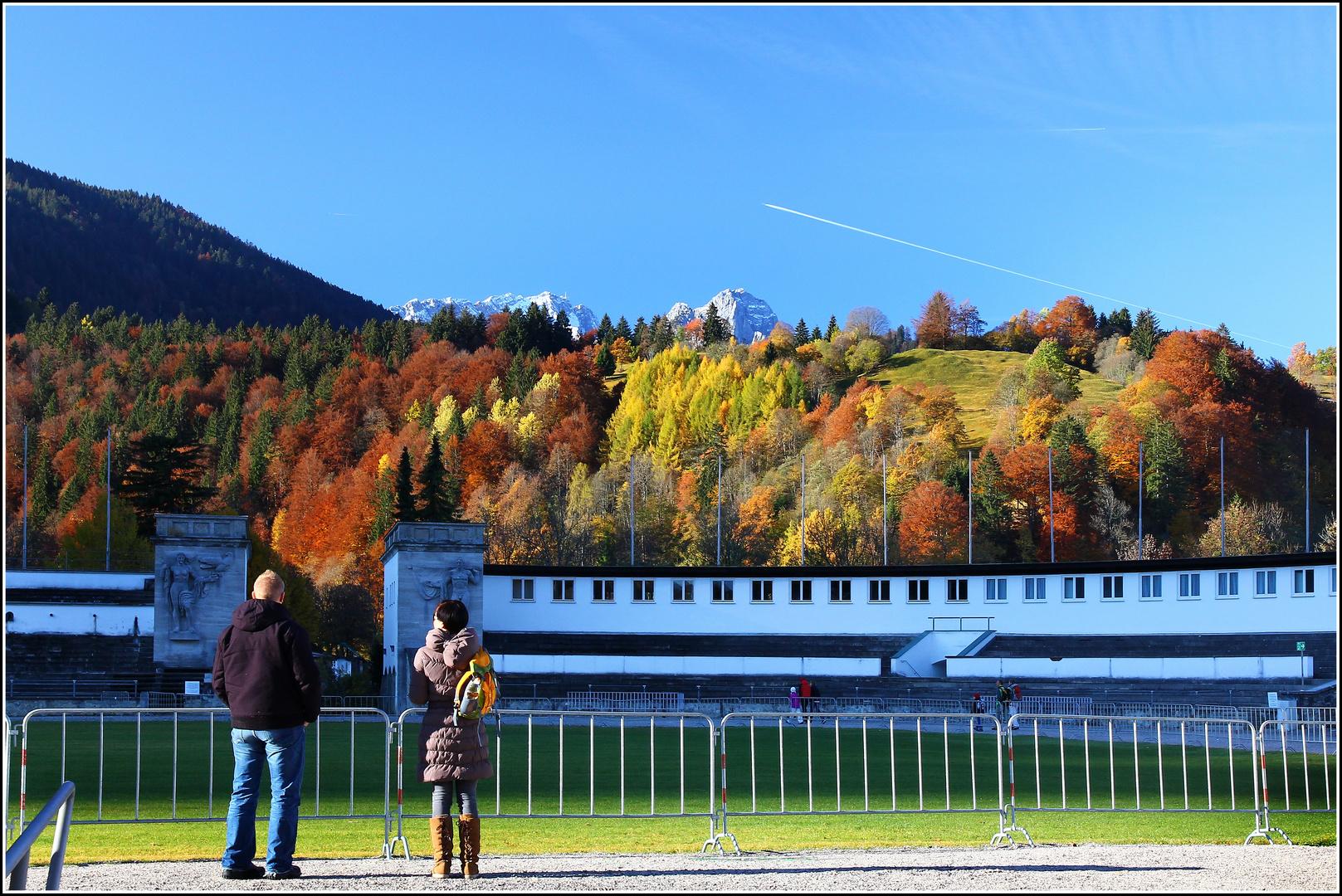 Zugspitzblick am 31. 10. 2011