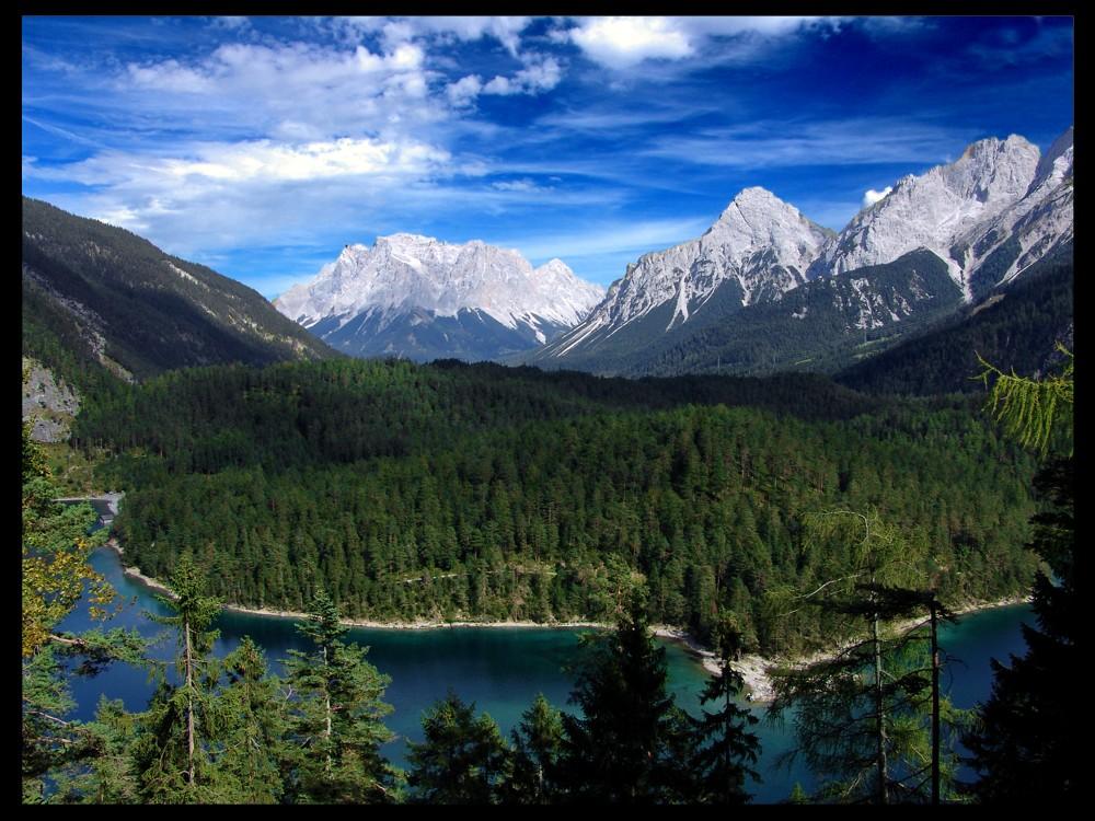 Zugspitze aus Sicht der Österreicher